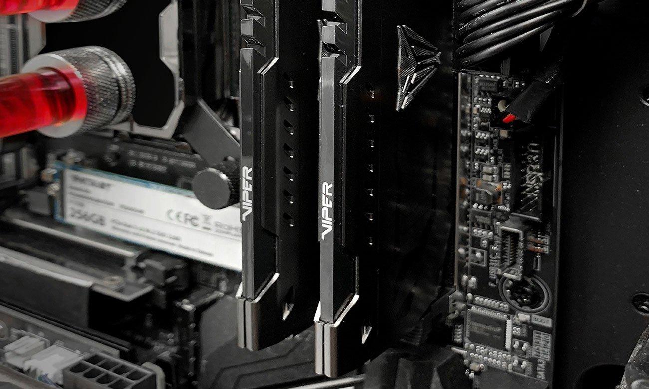 Patriot Viper Steel w komputerze