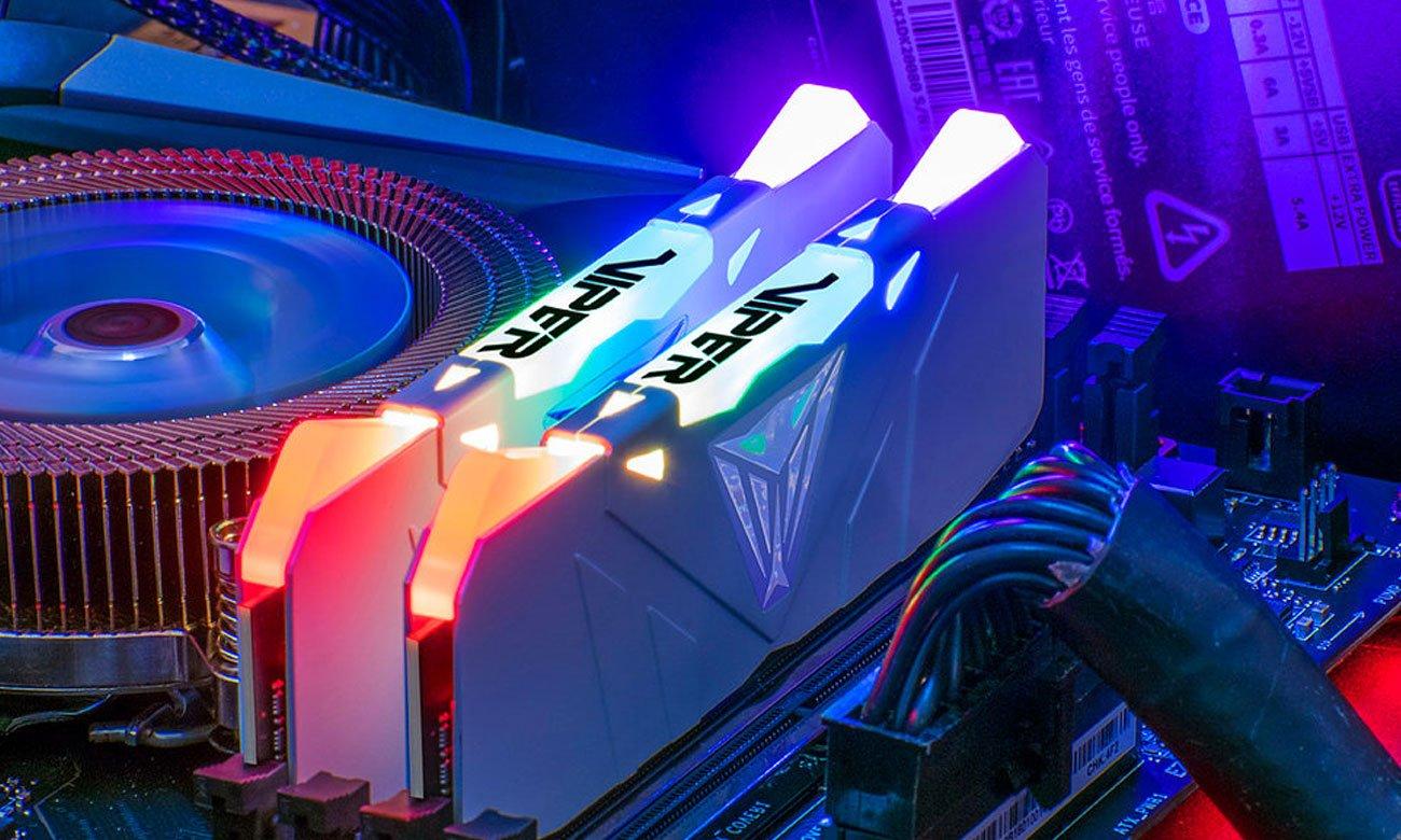 Pamięć RAM DDR4 Patriot Viper Podświetlenie RGB