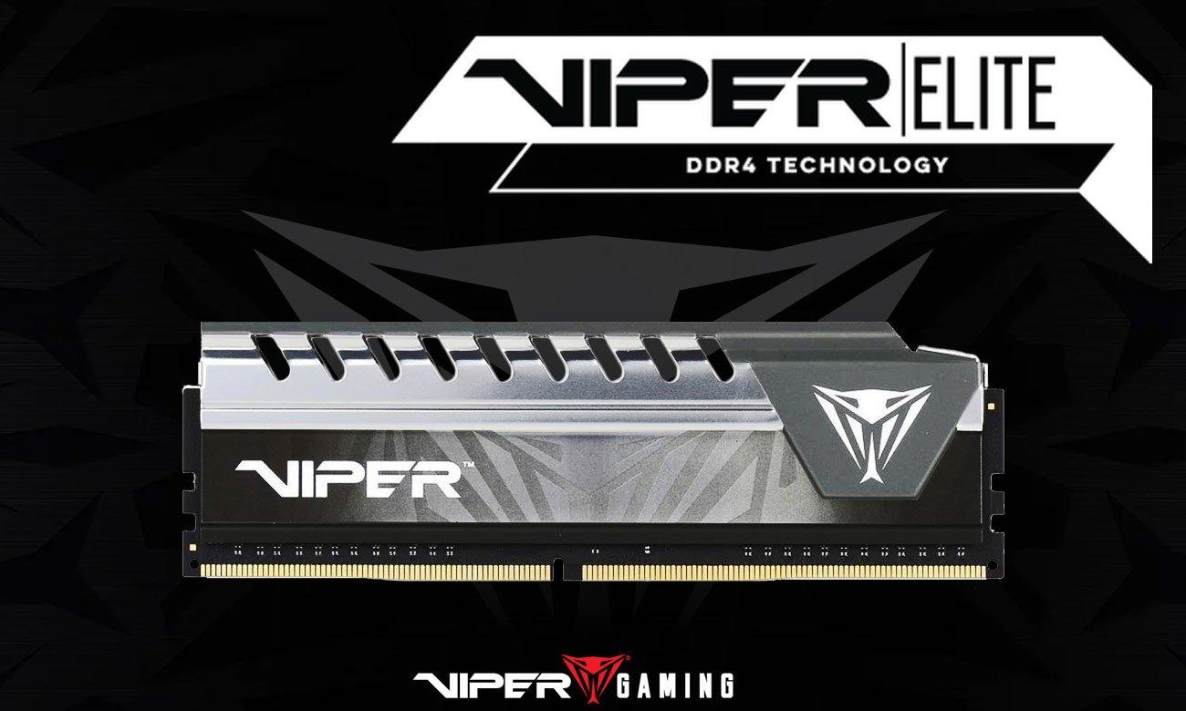 Pamięć DDR4 Patriot Viper Elite Gray Z myślą o najwyższej wydajności