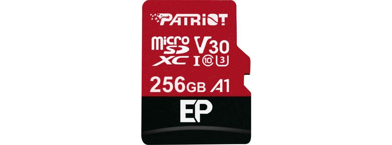 Karta pamięci microSD Patriot 256GB EP microSDXC