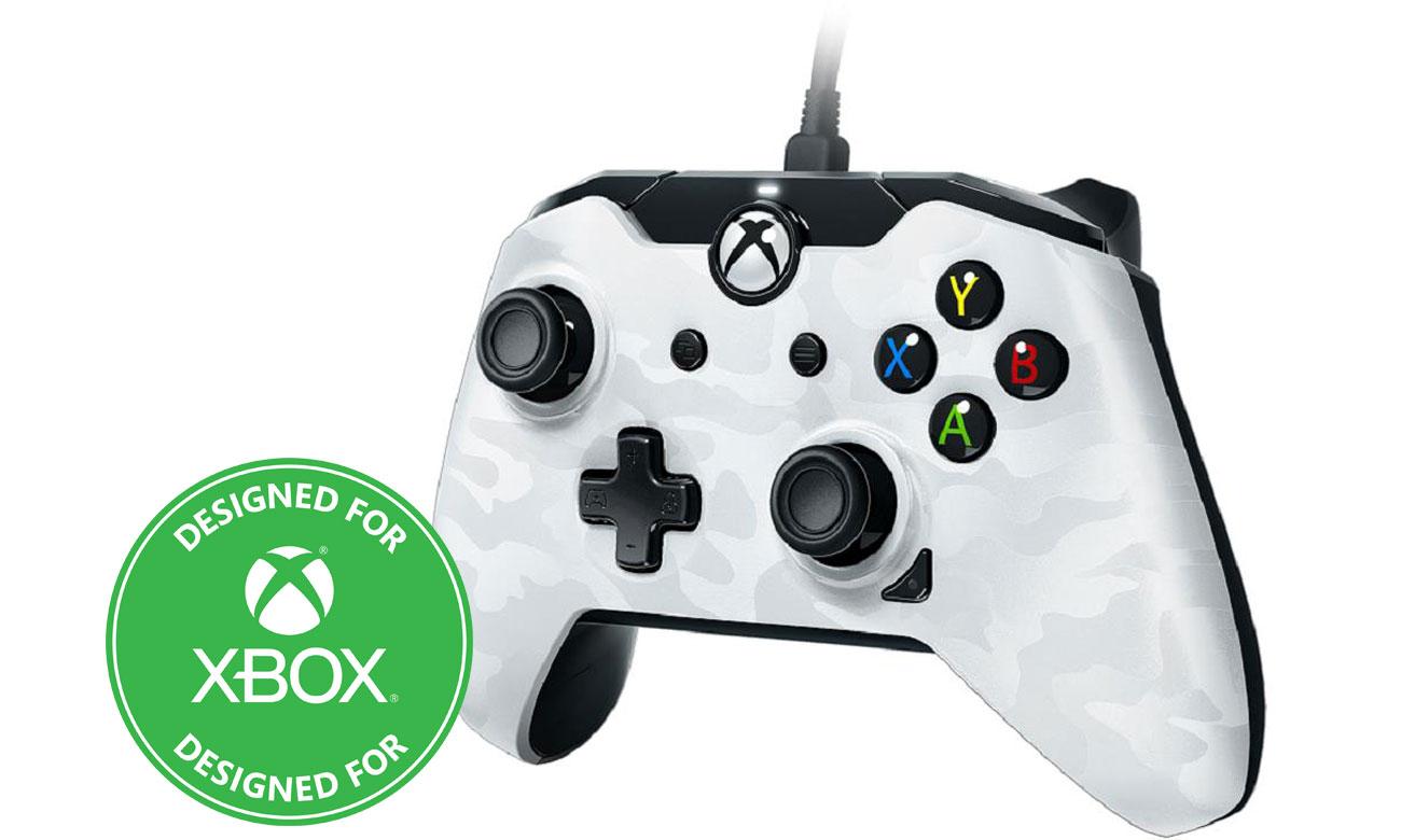 Kontroler PDP Pad Xbox CAMO WHITE