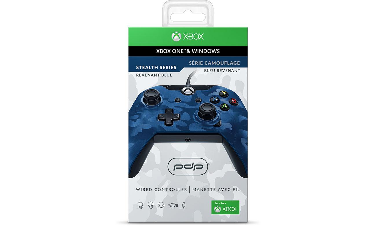 Najważniejsze cechy Kontrolera PDP Pad Xbox One Camo Blue