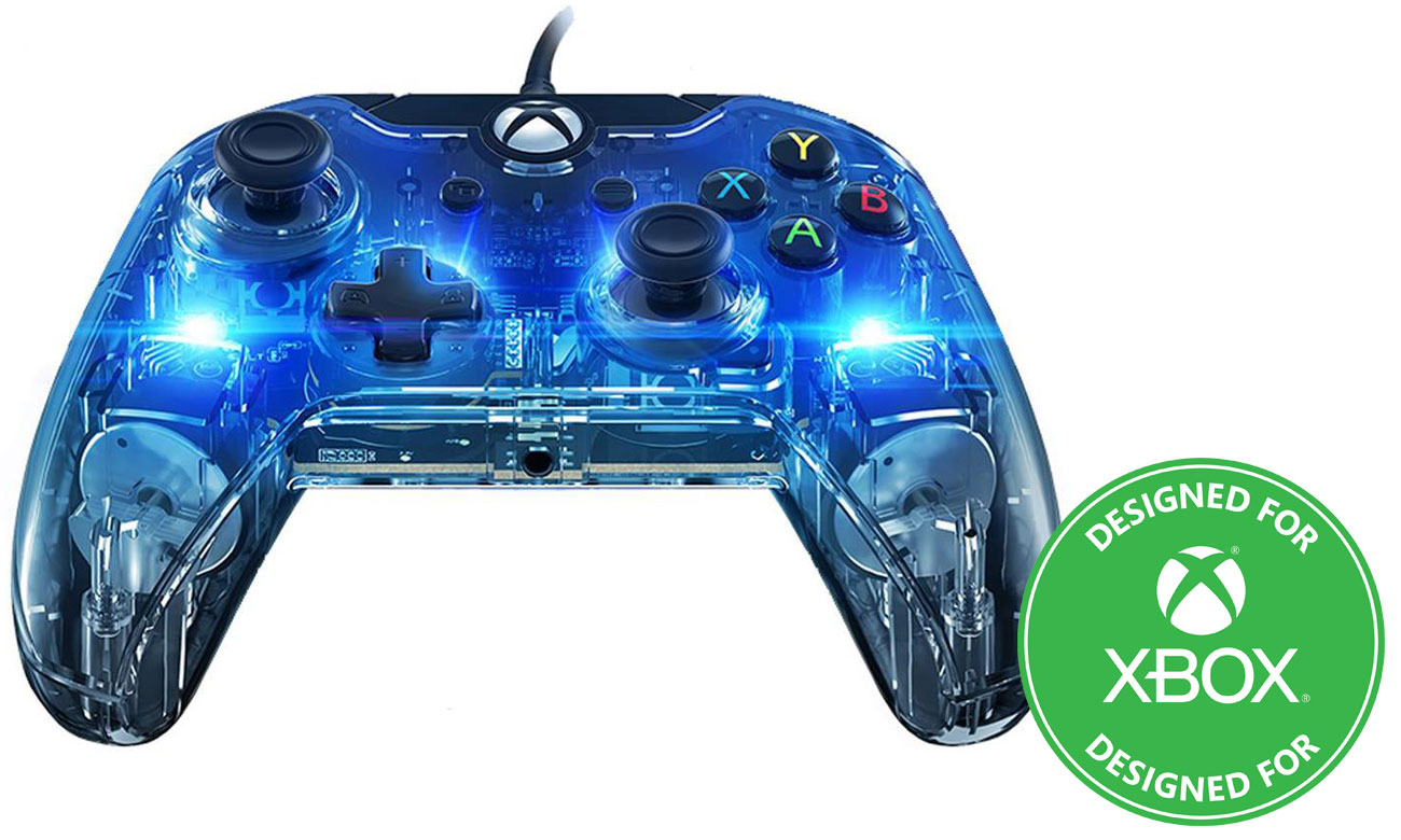 Kontroler PDP Pad Xbox One Afterglow