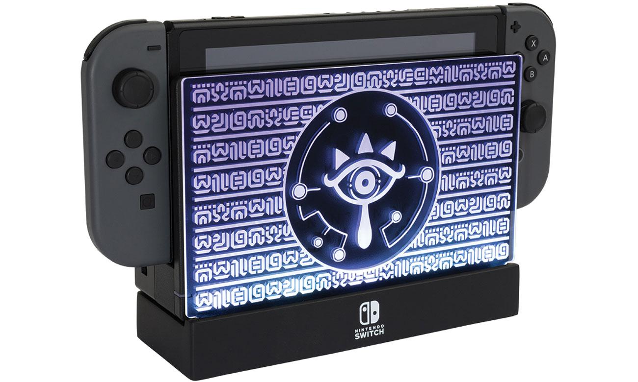 Podświetlana podstawka stacji dokującej Nintendo Switch