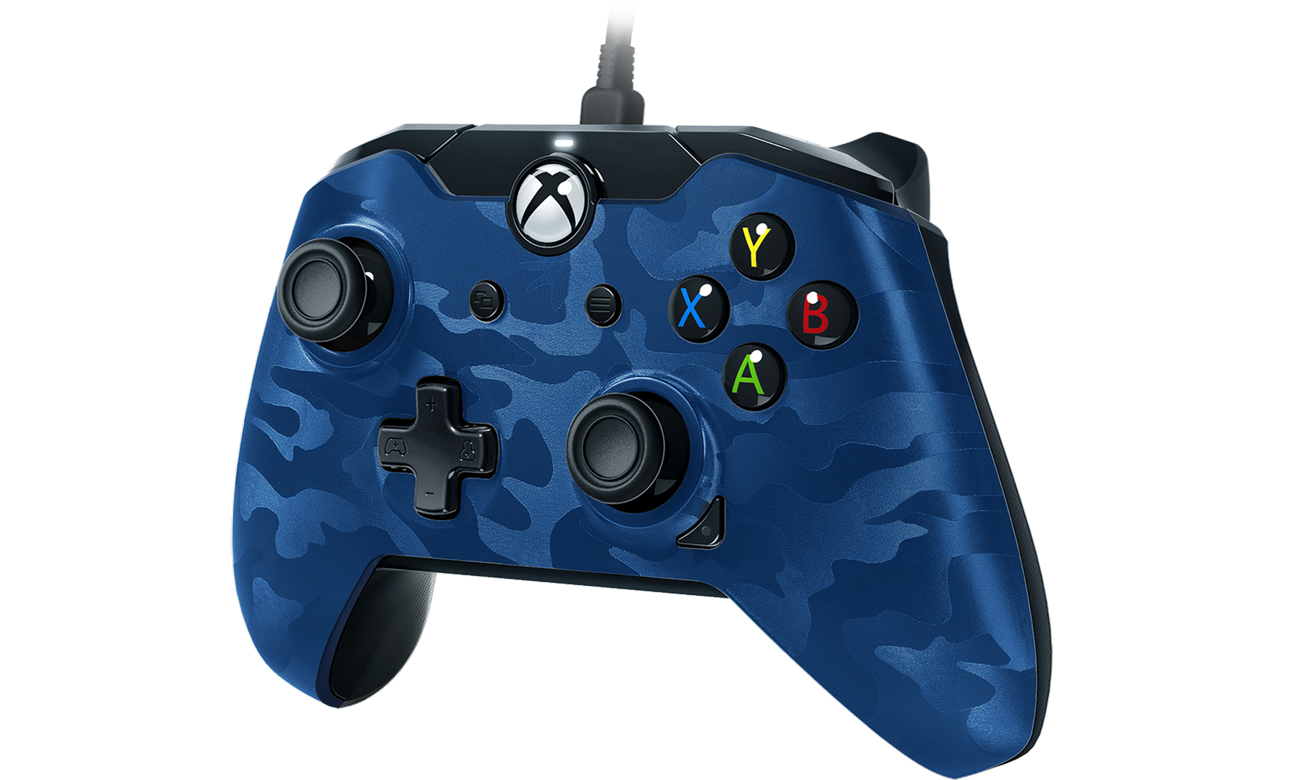 Gamepad PDP Delux Camo Blue do Xbox One