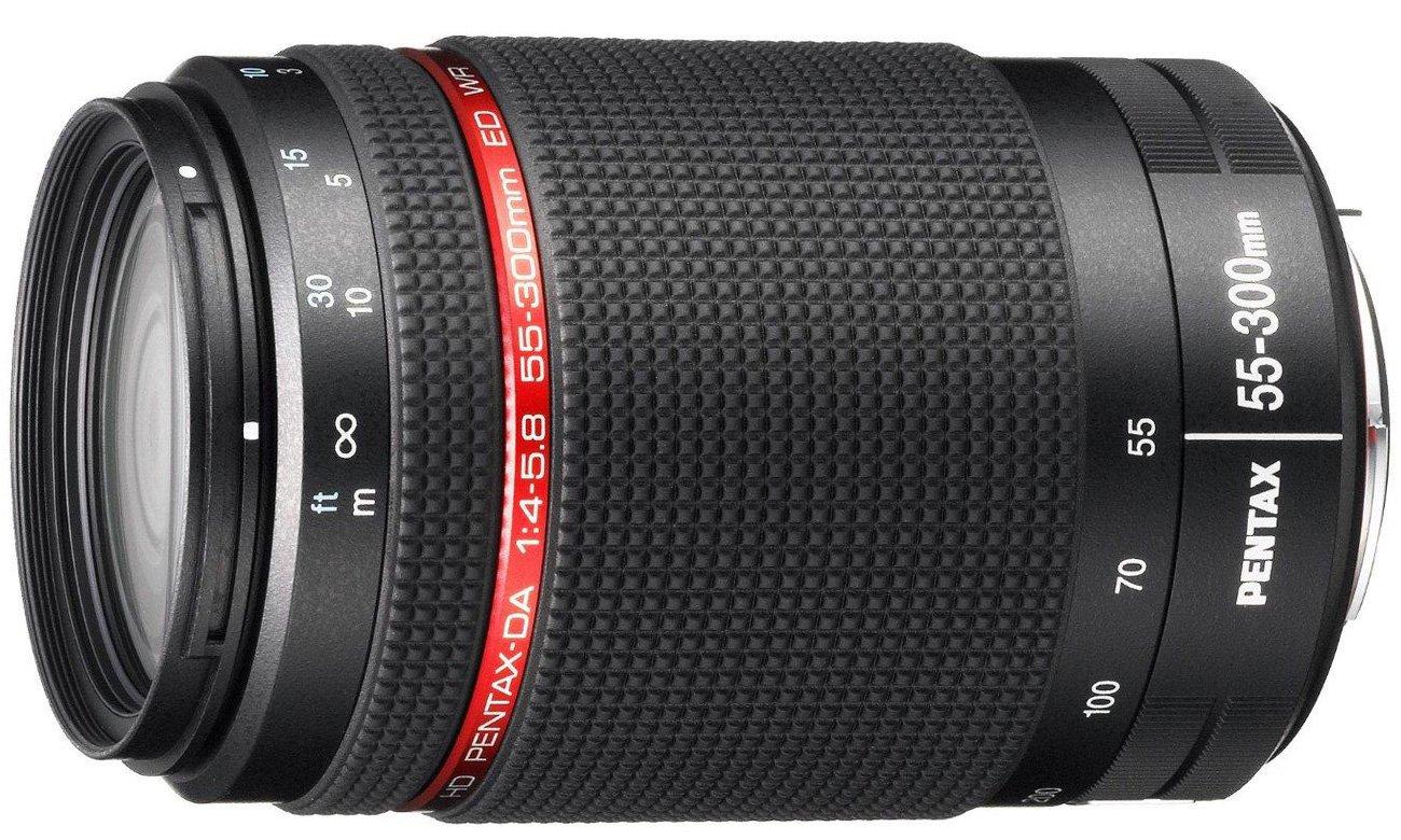 Obiektyw zmiennoogniskowy Pentax HD DA 55-300mm WR f4-5.8