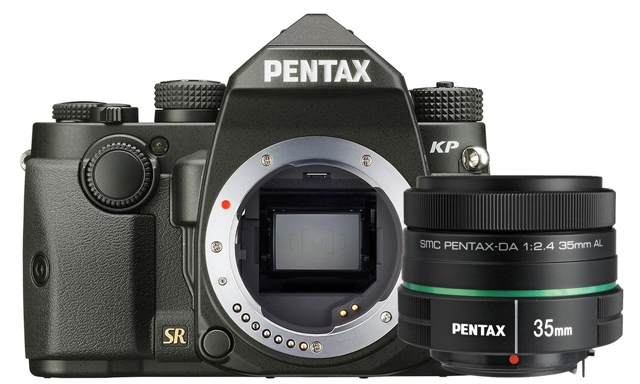Aparat profesjonalny Pentax KP body + DA 35mm F2.4