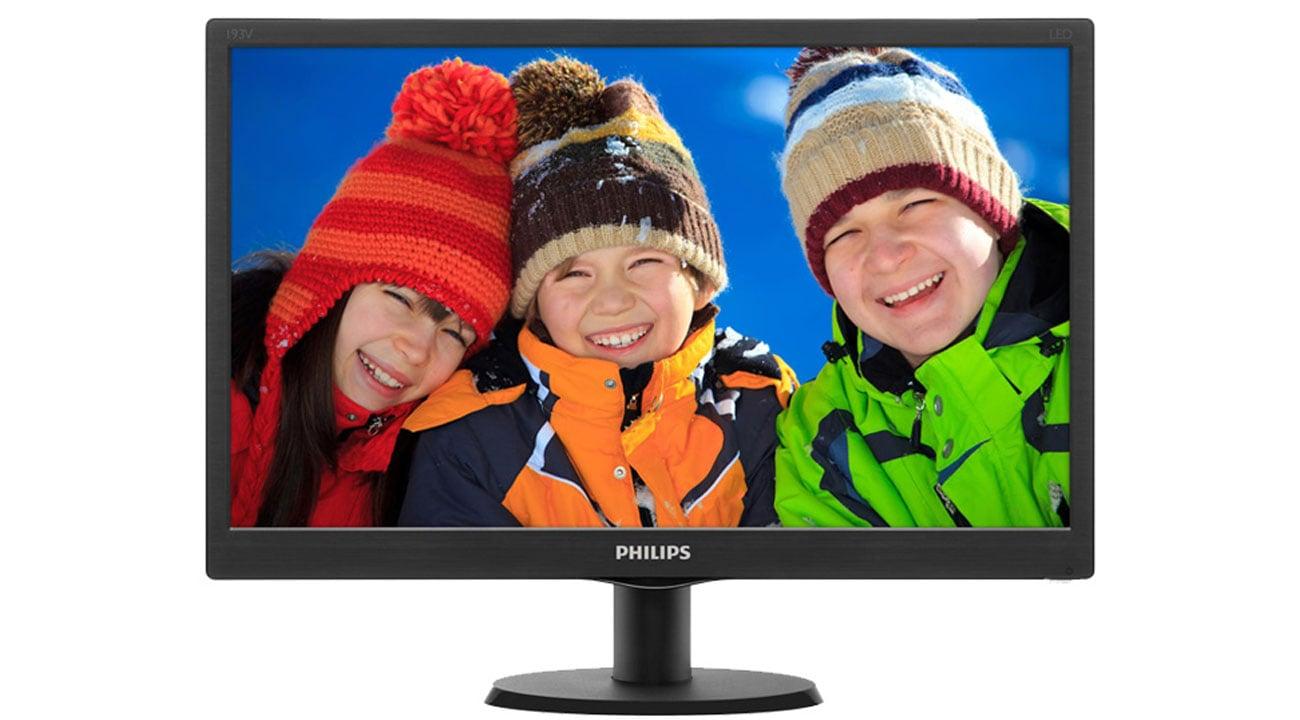 Philips 193V5LSB2/10 technologia led