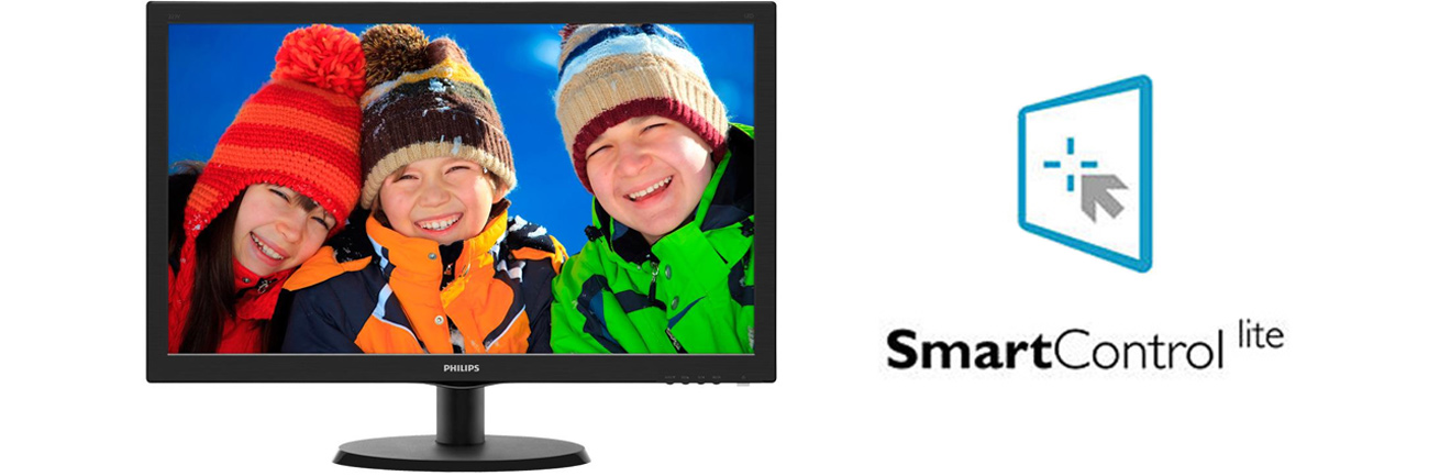 Philips 223V5LHSB2 SmartControl Lite