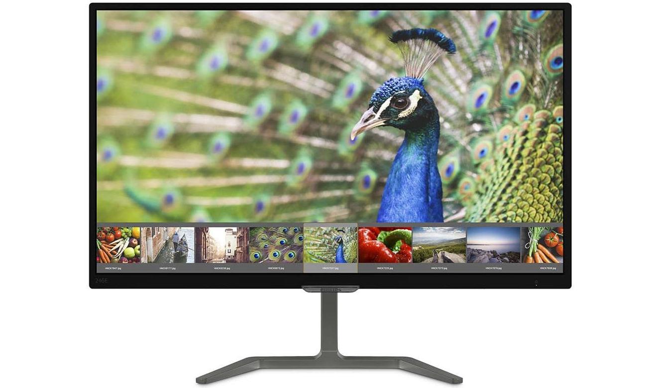 Philips 246E7QDAB/00 z technologią Ultra Wide-Color