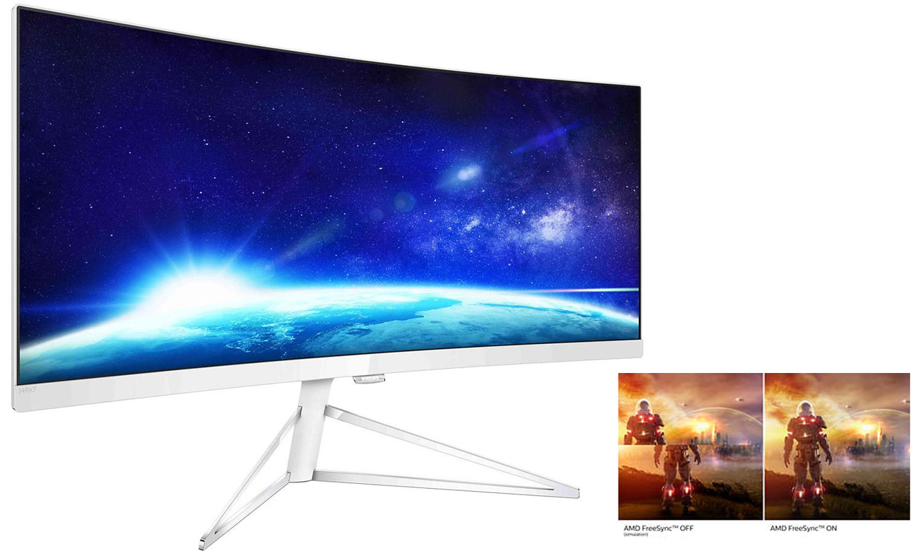 Philips 349X7FJEW amd freesync