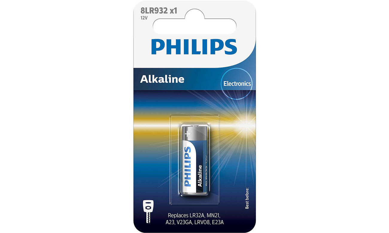 Bateria Philips mini Alaline 8LR932