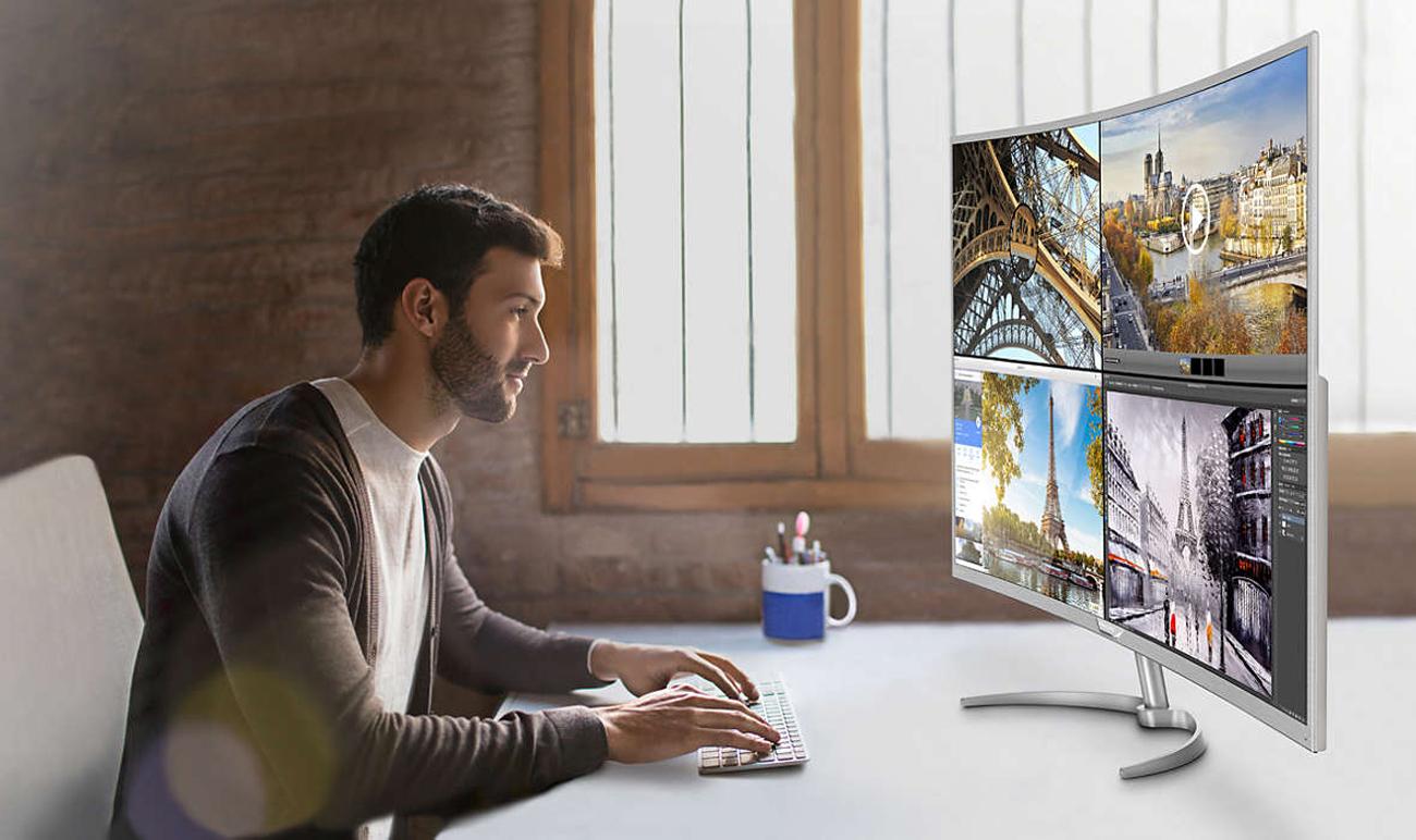 Philips BDM4037UW Technologia MultiView 4K