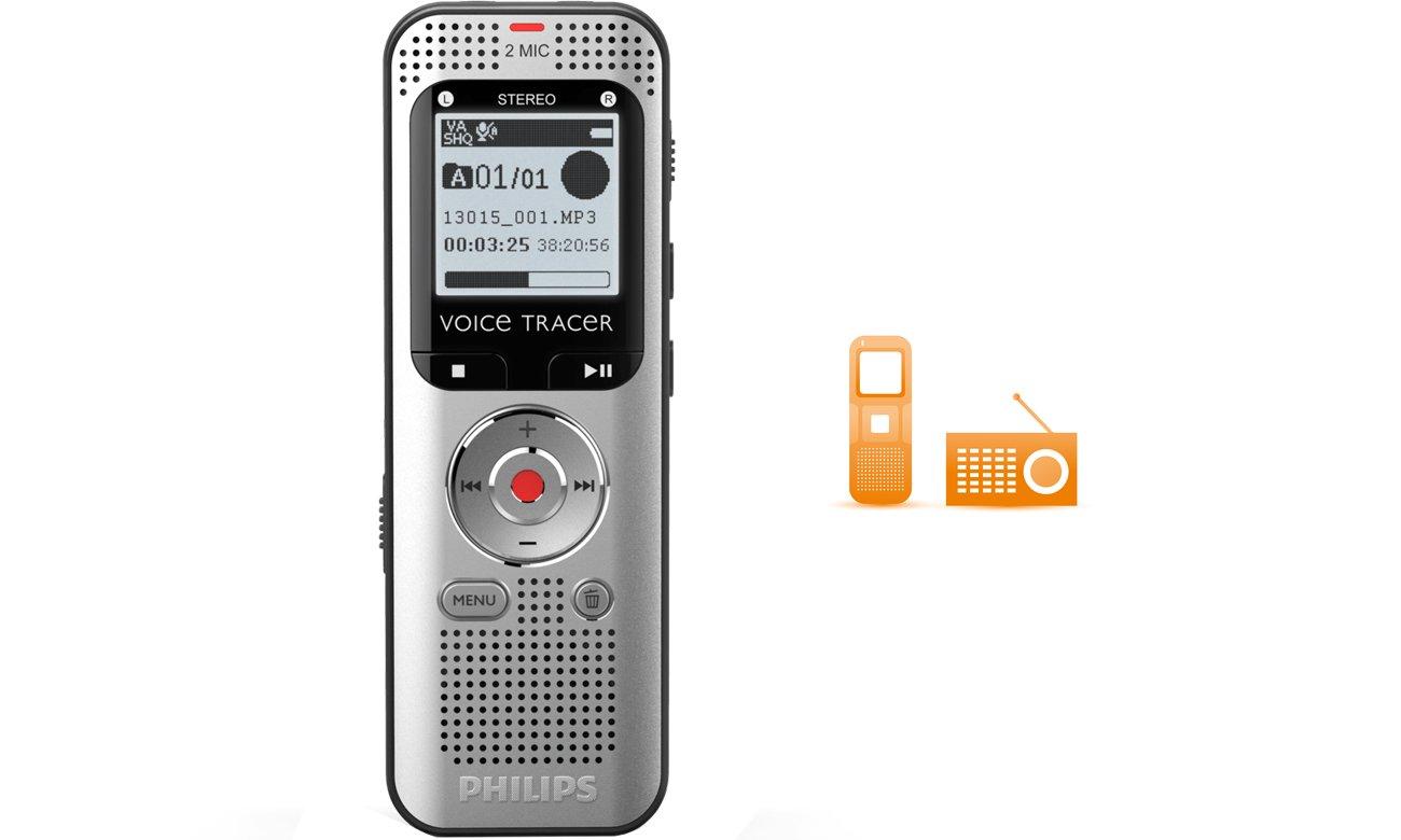 Philips DVT2000 Tuner FM