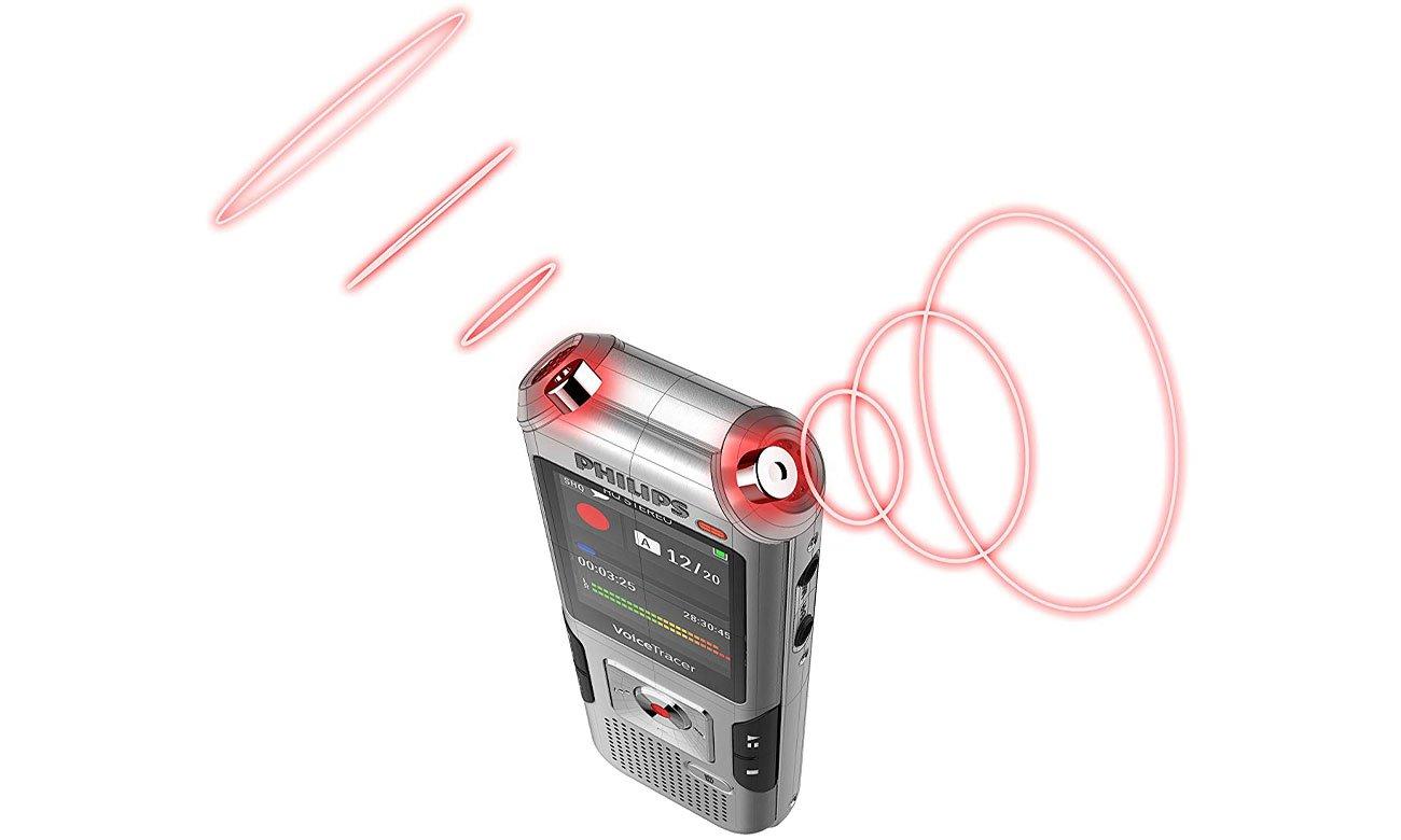 Philips DVT4010 Regulacja czułości