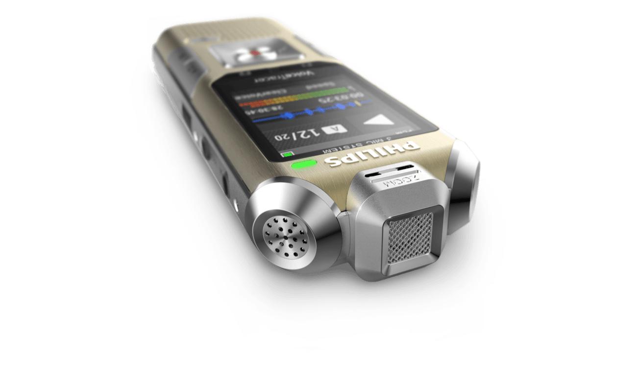 Philips DVT8010 mikrofony