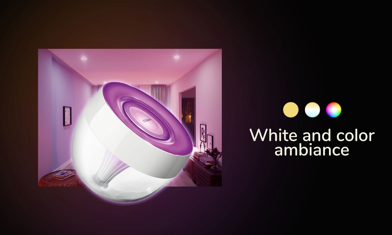 Lampka Philips Hue Iris White and Color Ambiance