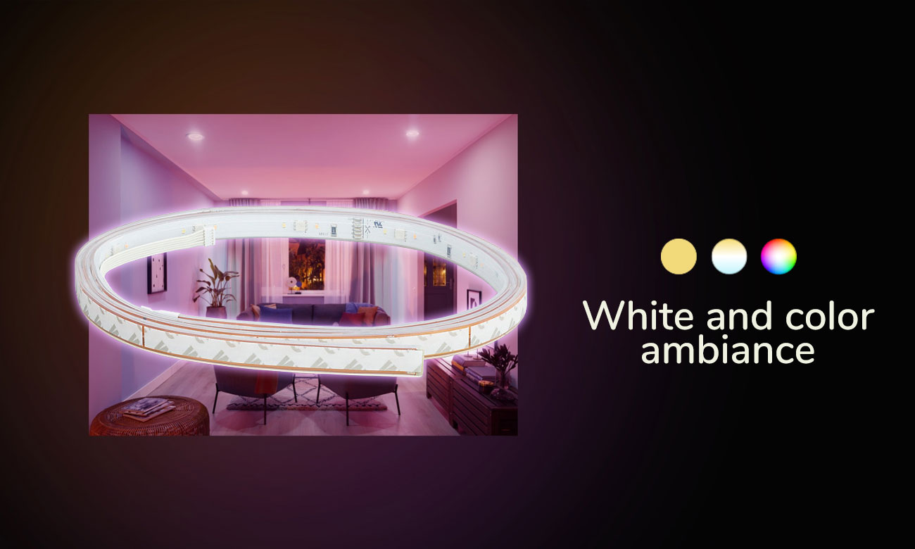 Philips Hue White and Color Ambiance Taśma LED (2metry)