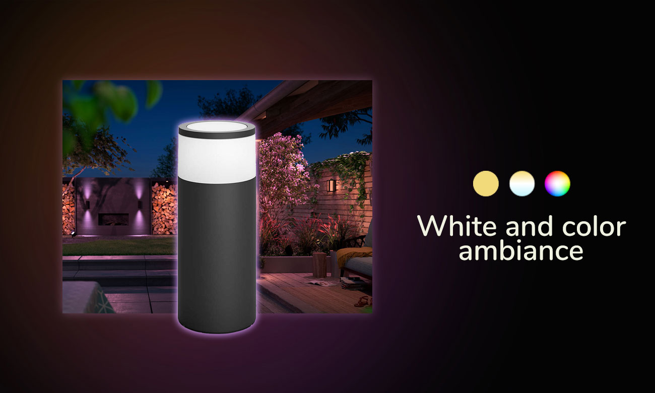 Philips Hue White and Color Ambiance (Lampa Calla)