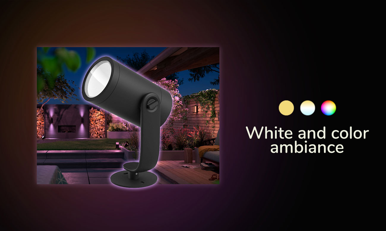 Philips Hue White and Color Ambiance (Reflektor Lily 3szt.)