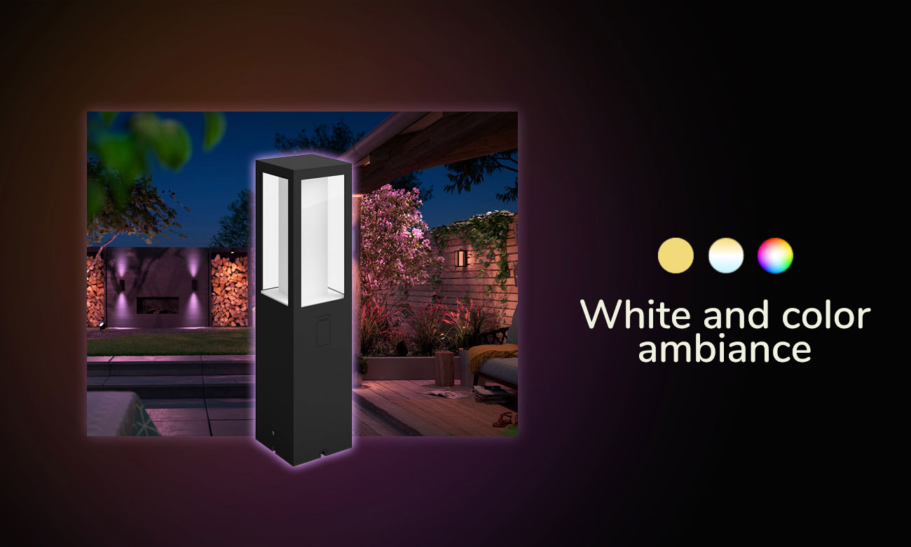 Philips Hue White and Color Ambiance Impress