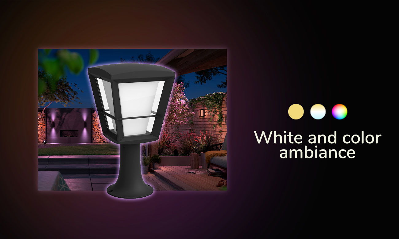 Philips Hue White and Color Ambiance Econic