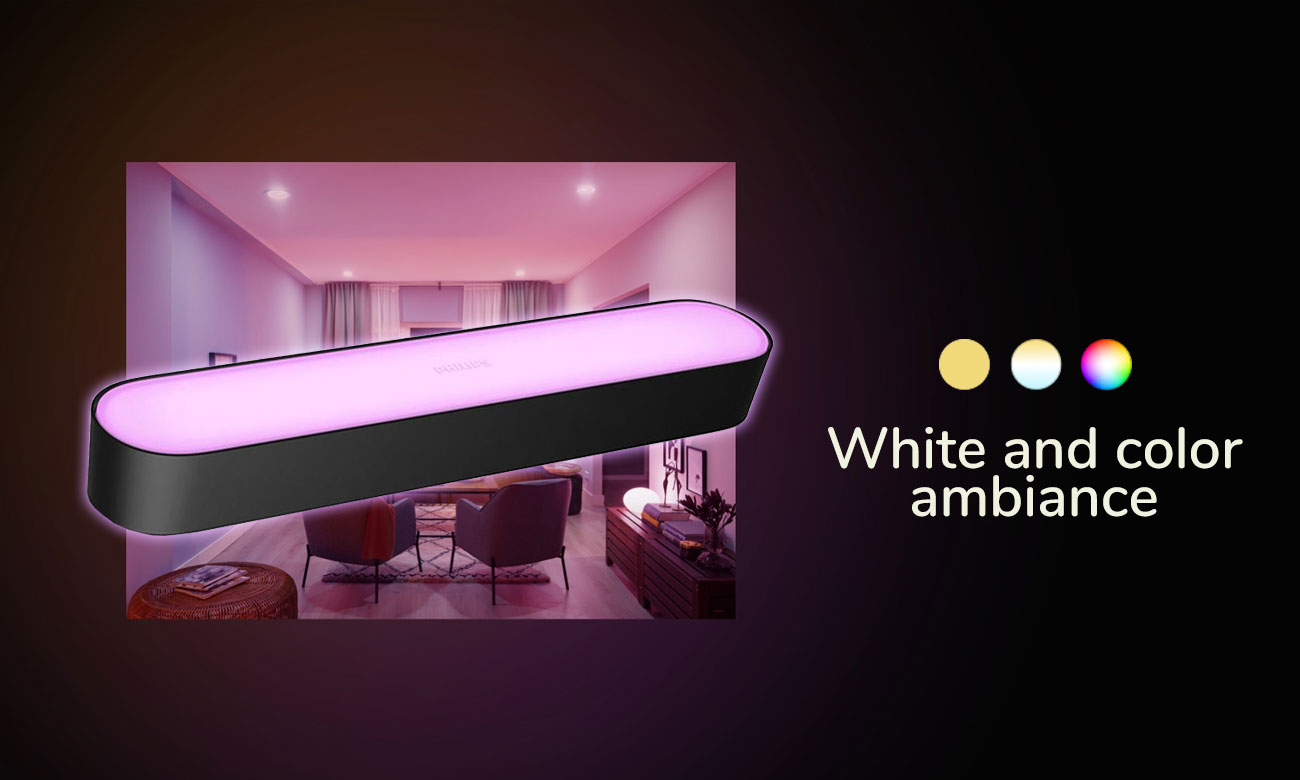 Hue White and Color Ambiance Play (czarna)
