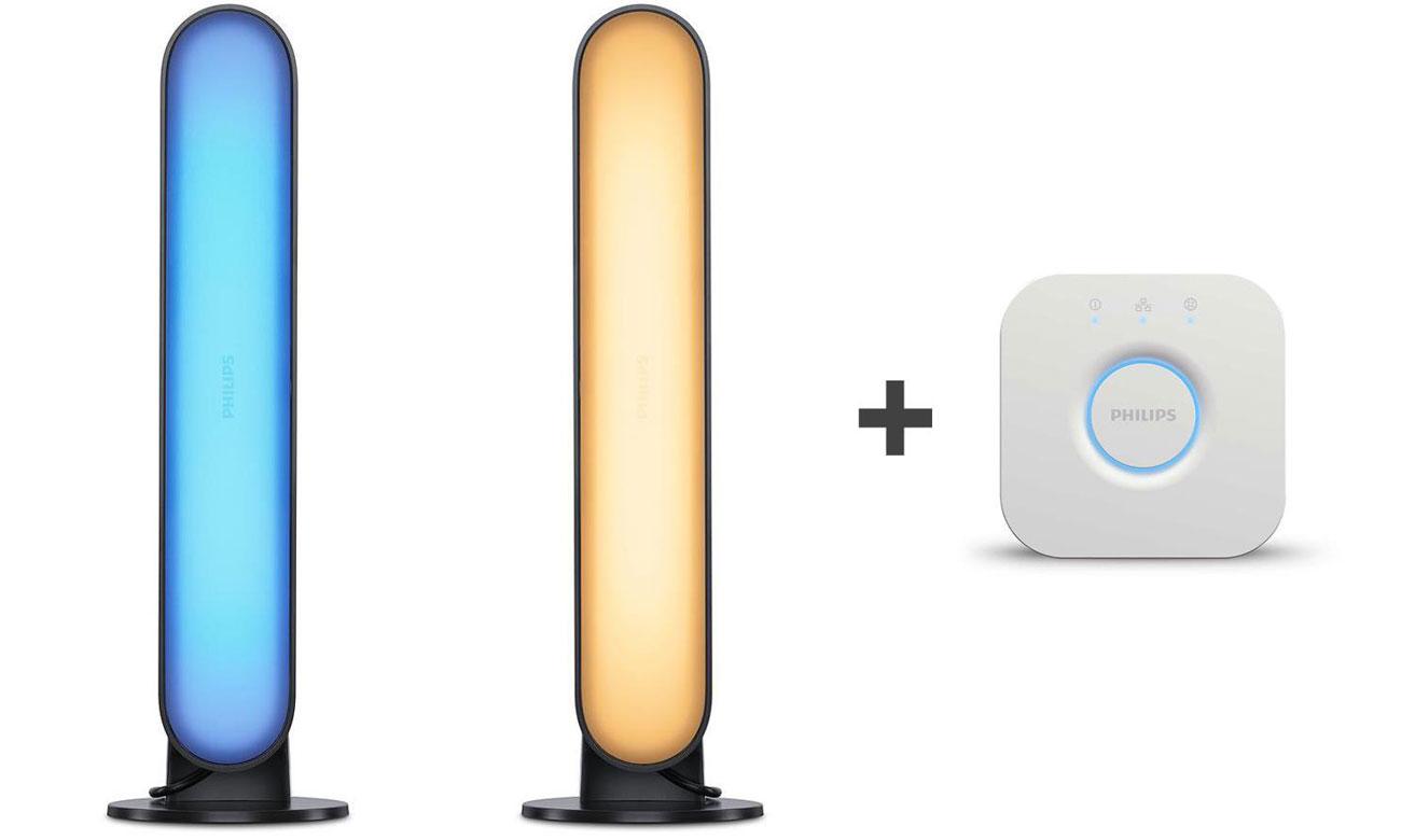 Zestaw Philips Hue White and Color Ambiance Taśma LED + Mostek Bridge 2.0