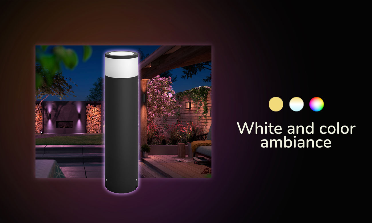 Philips Hue White and Color Ambiance (Duża Lampa Calla)