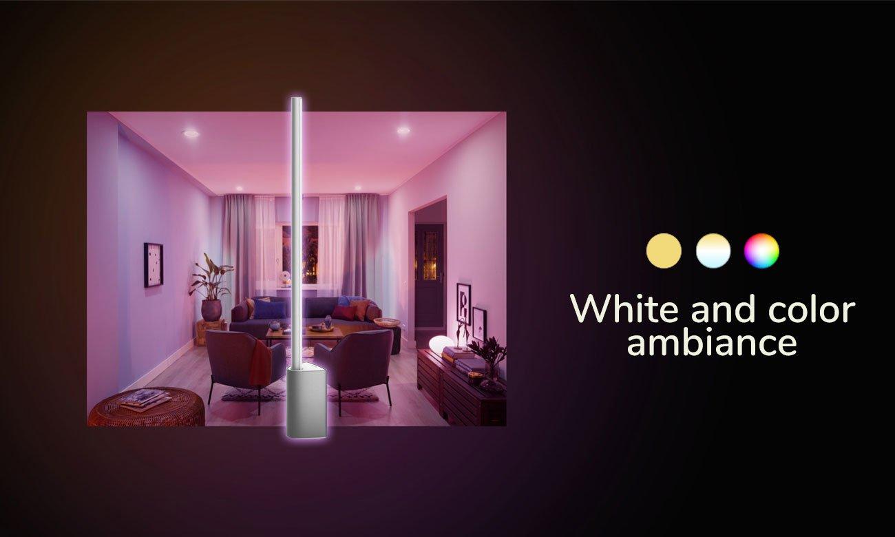 Inteligentna lampa Philips Hue White and Color Ambiance (Lampa Biurkowa Signe) 8718696174517 (ZigBee+BT)