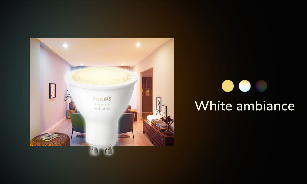 Philips Hue White Ambiance (1szt. GU10)