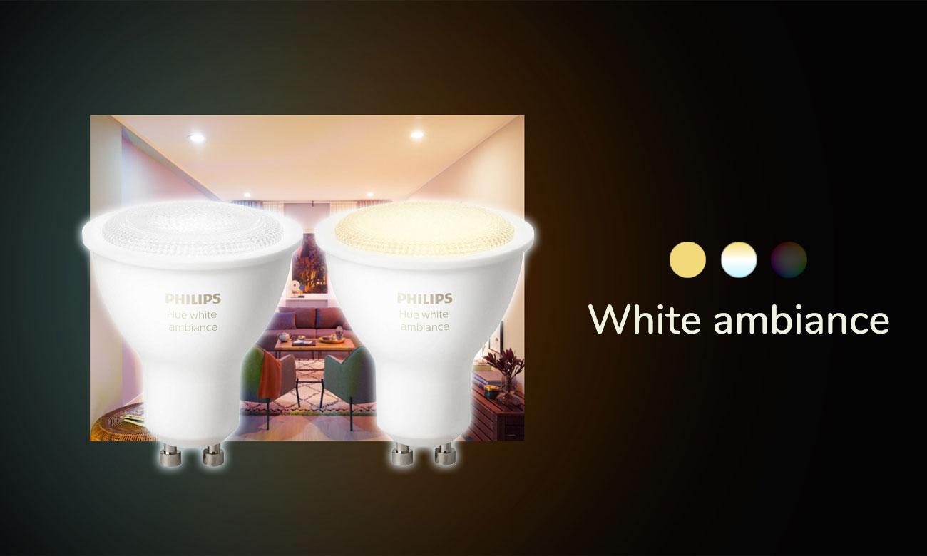 Philips Hue White Ambiance (2szt. GU10)