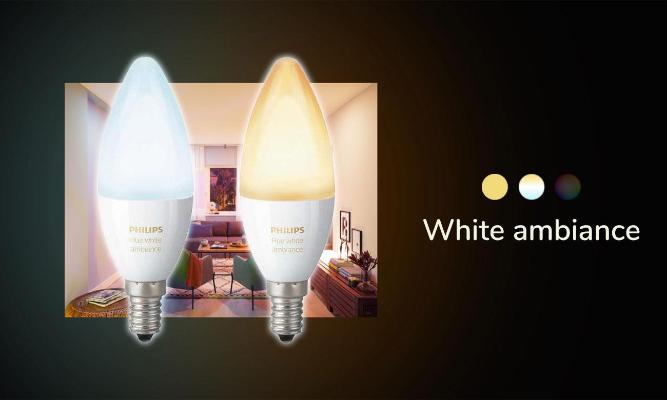 Philips Hue White Ambiance (2szt. E14)