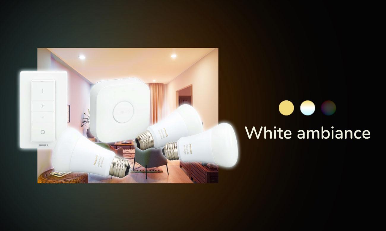 Zestaw startowy Philips Hue White Ambiance (3szt. E27)