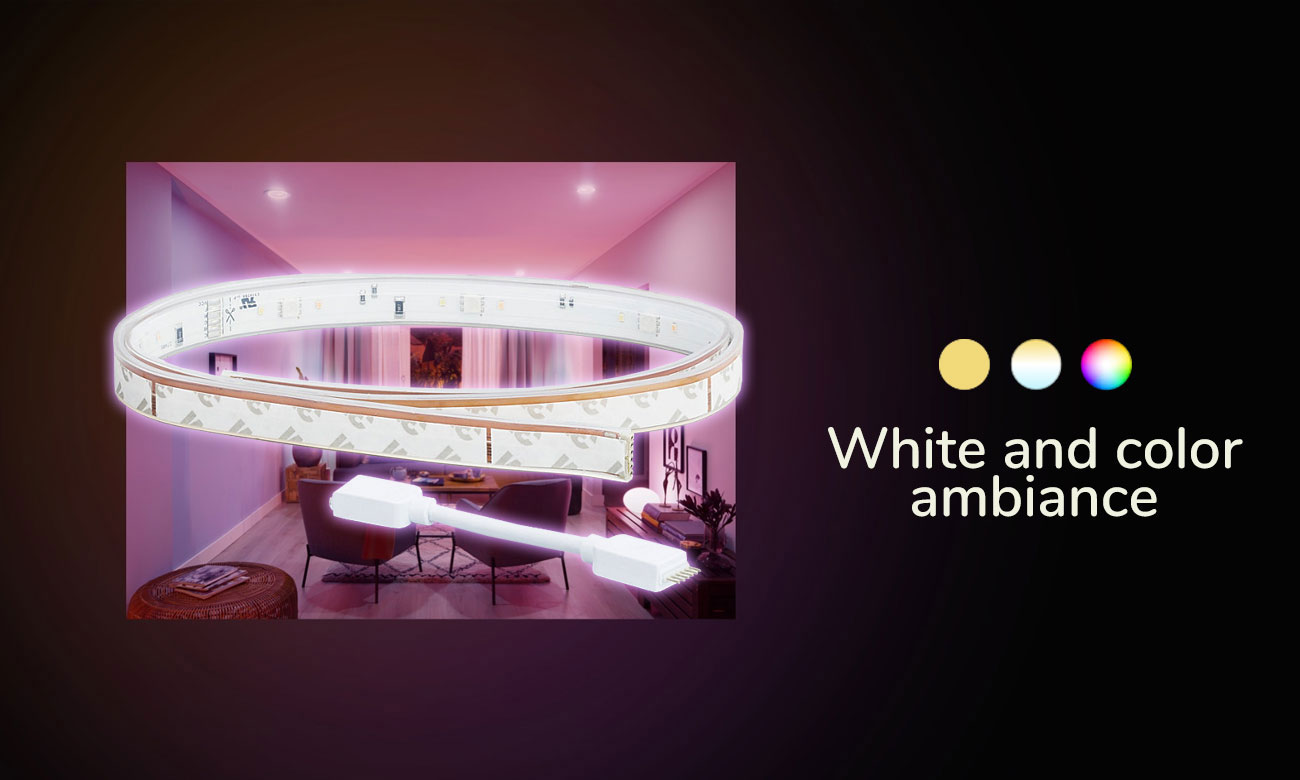 Philips Hue White and Color Ambiance Taśma LED (1metr)