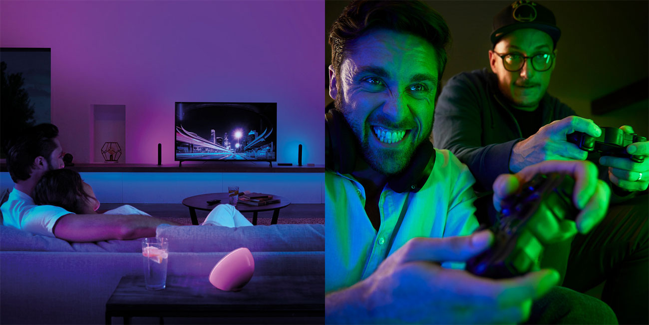 Philips Hue Play HDMI Sync Box - 4 złącza HDMI