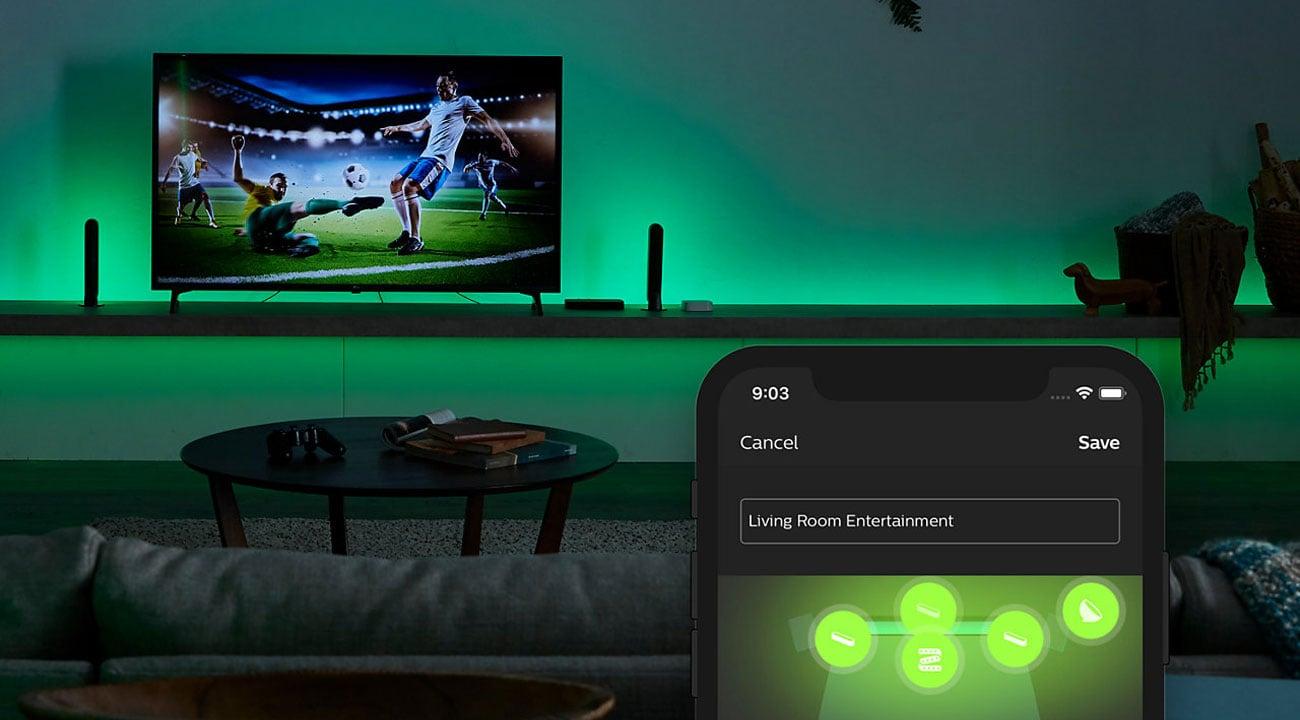 Philips Hue Play HDMI Sync Box - Aplikacja