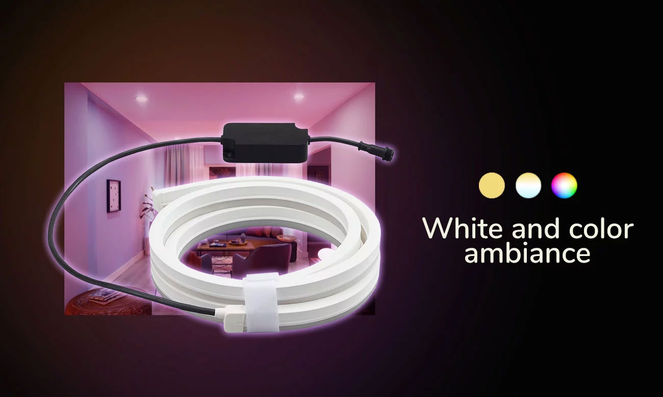 Hue White and Color Ambiance Zewnętrzna BT (2m)