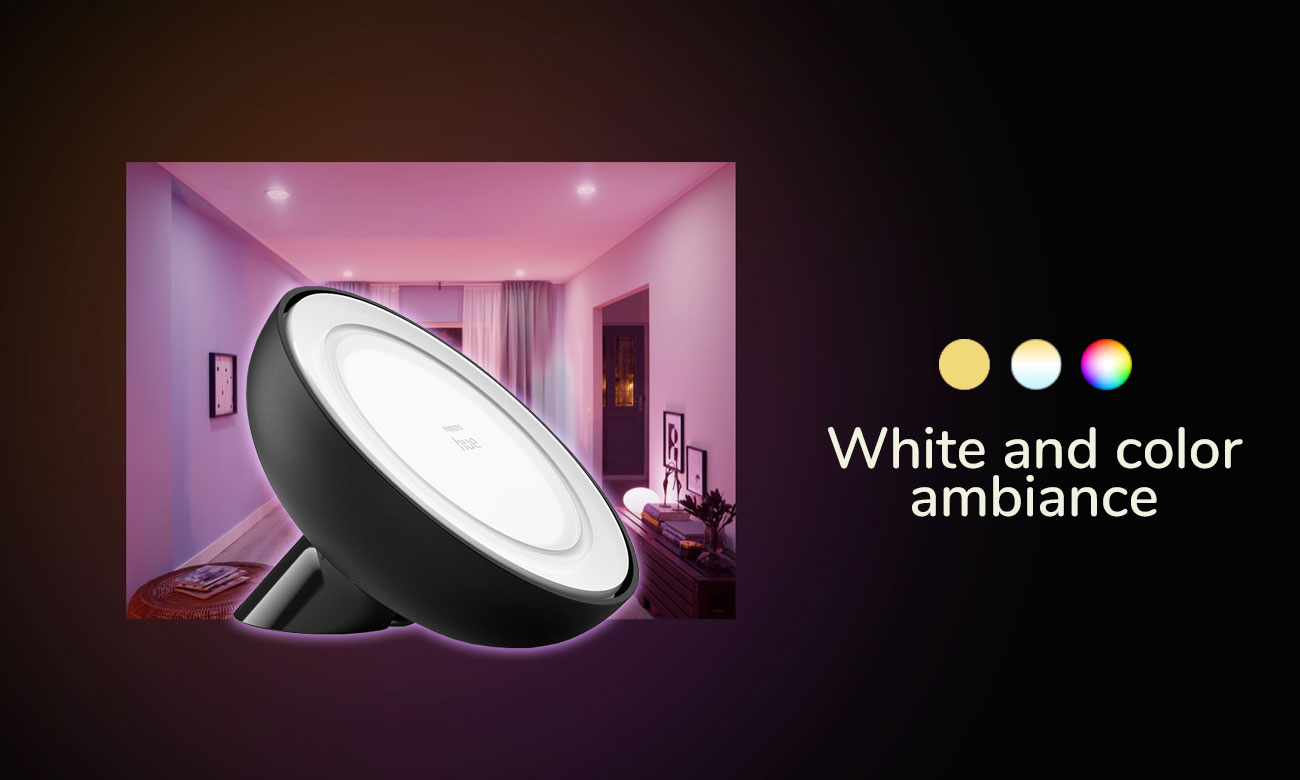 Lampka Philips Hue Bloom White and Color Ambiance