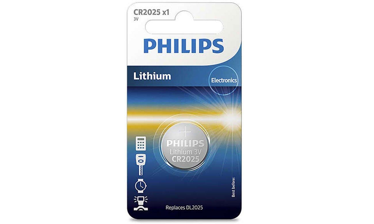 Bateria litowa Philips Lithium CR2025