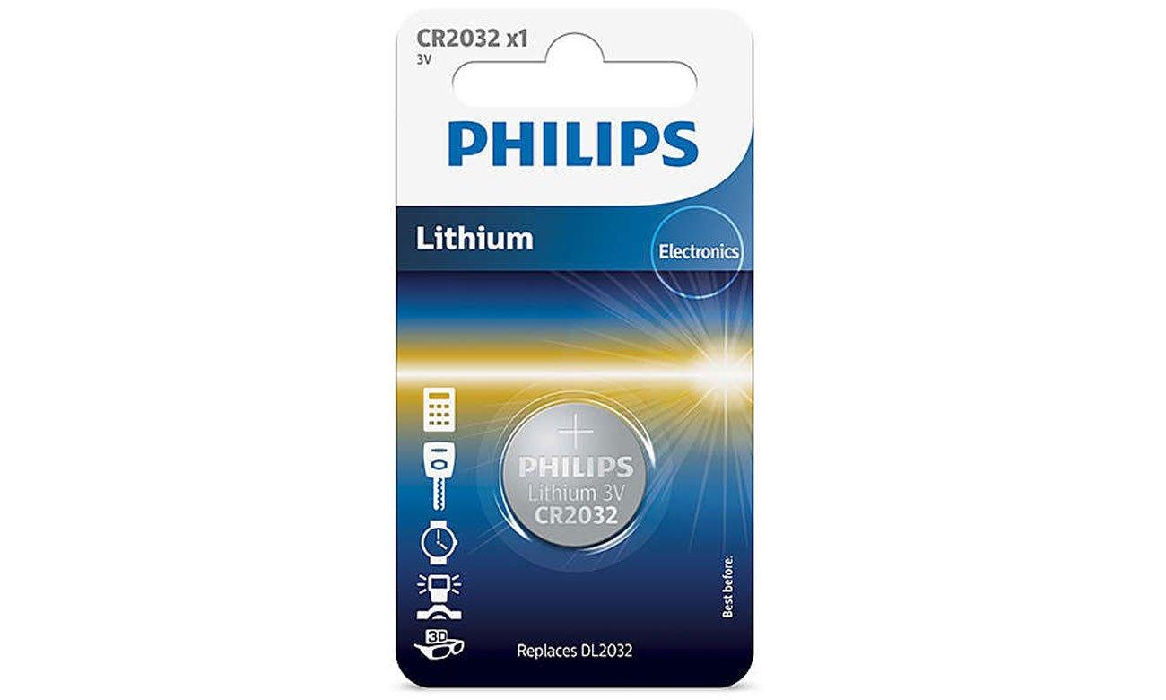 Bateria litowa Philips Lithium CR2032