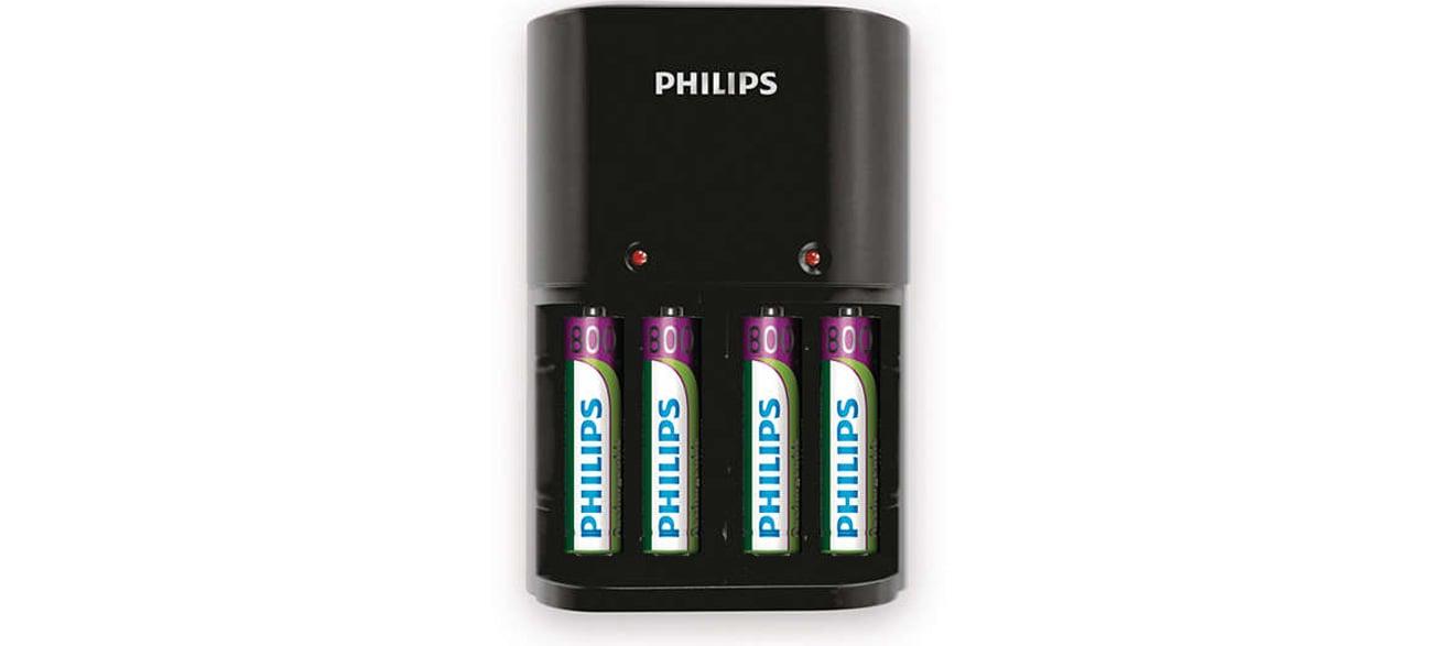 Ładowarka akumulatorów AA / AAA + 4 x AA 2100mAh
