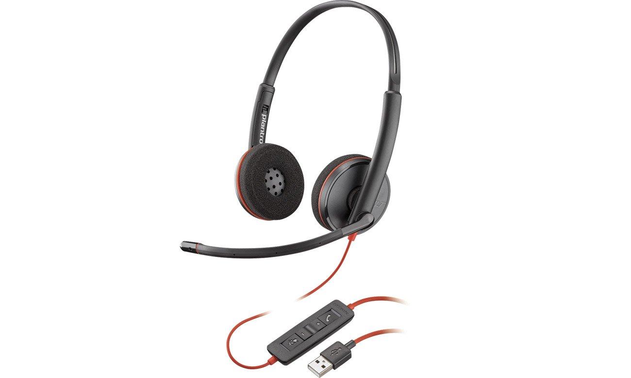 Zestaw słuchawkowy Plantronics Blackwire C3220