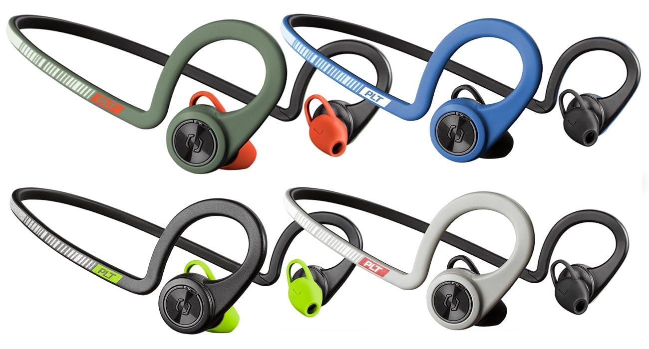 Plantronics BackBeat FIT Elastyczne, wytrzymałe i wodoodporne słuchawki sportowe