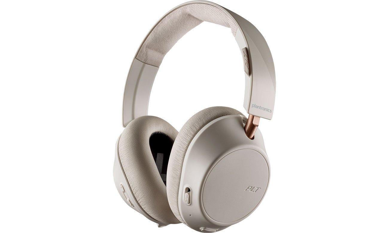 Słuchawki bezprzewodowe Plantronics Backbeat GO 810 Białe