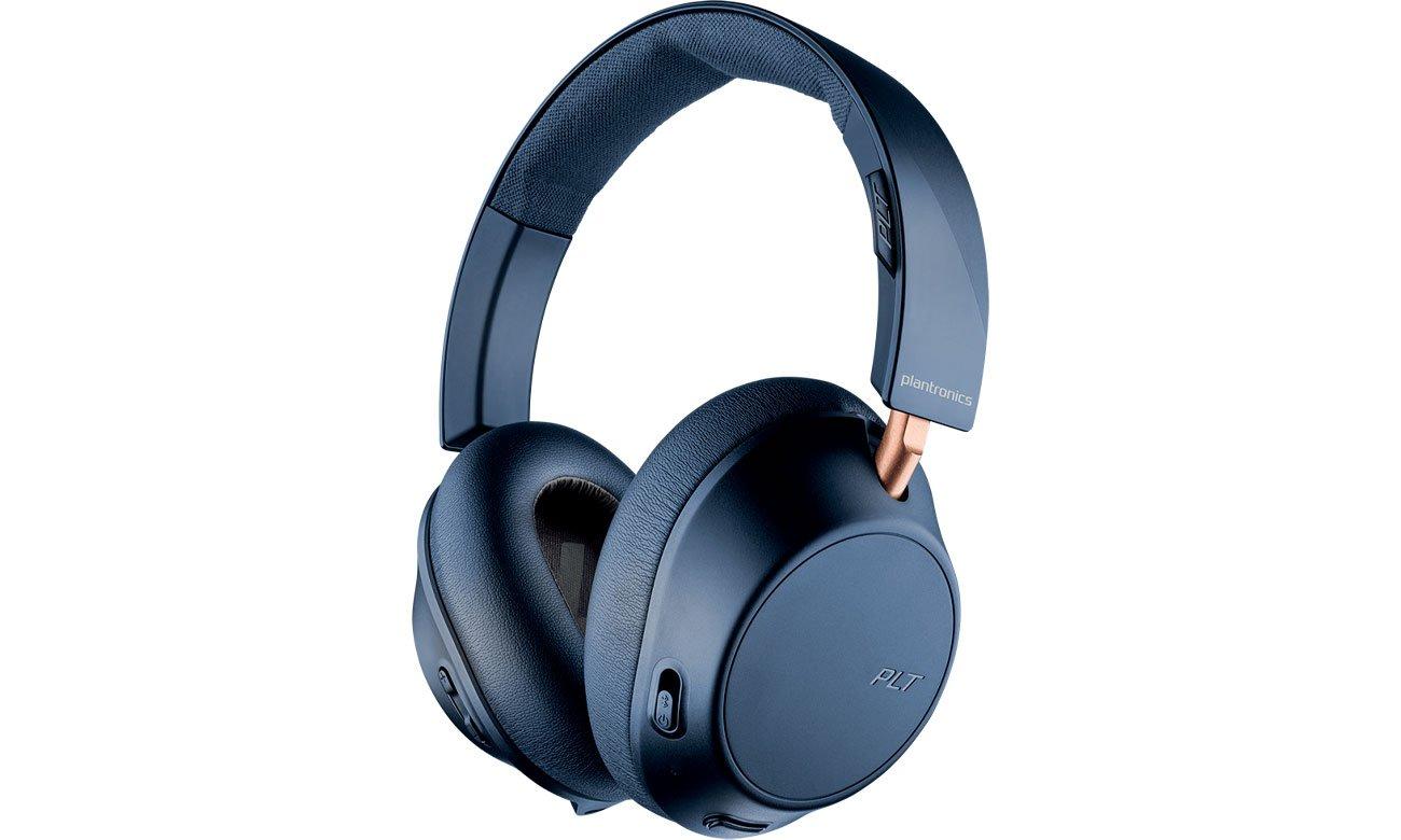 Słuchawki bezprzewodowe Plantronics Backbeat GO 810 Granatowe