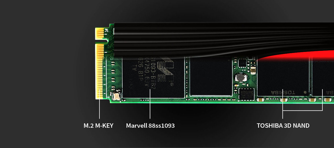 Dysk SSD M.2 Plextor M9Pe(G) Technologie
