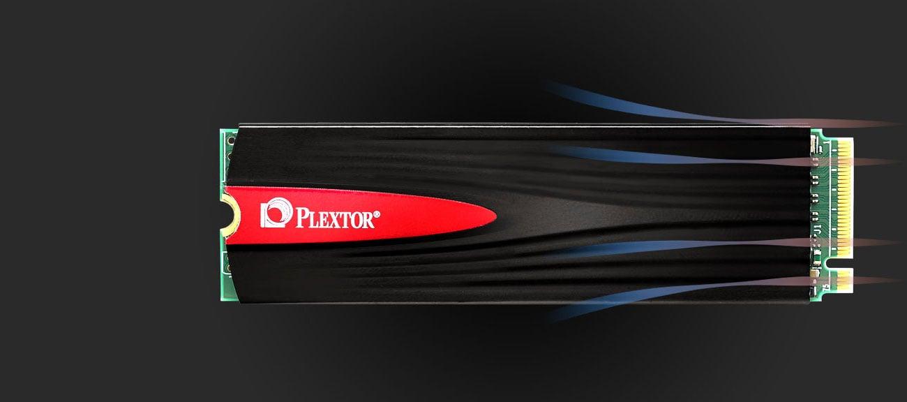 Dysk SSD M.2 Plextor M9Pe(G) Chłodzenie