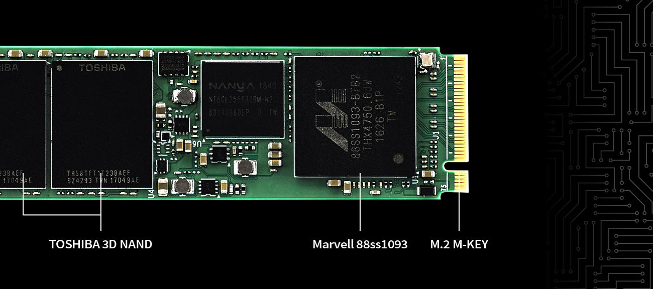 Plextor M9PeGN Technologie