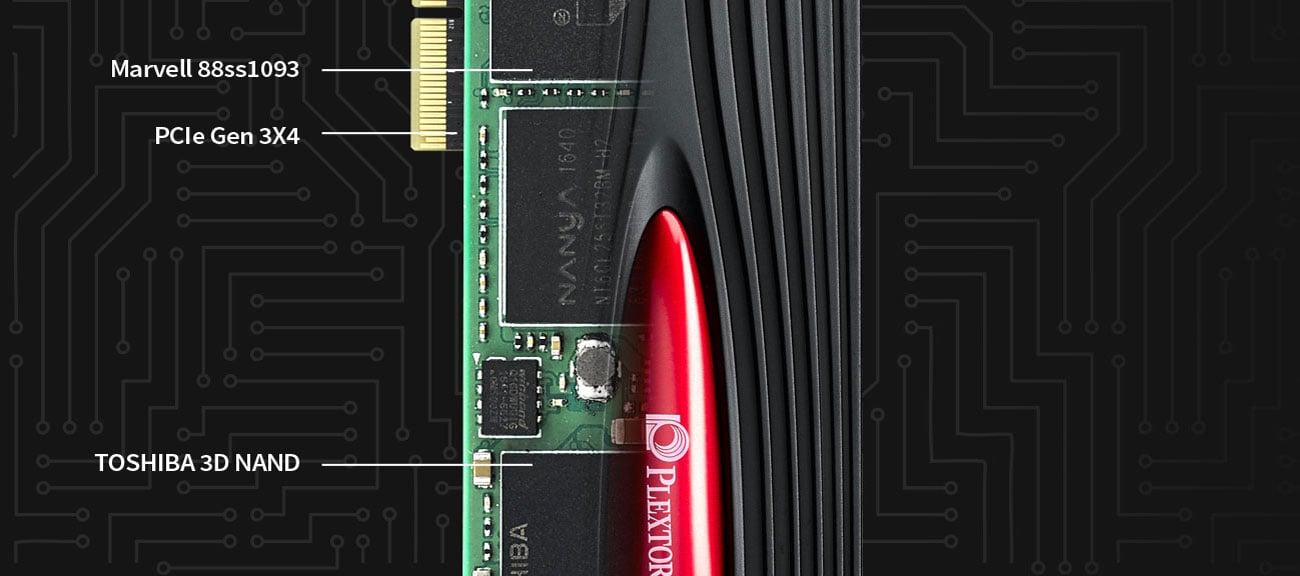 Dysk SSD Plextor M9Pe(Y) Technologie